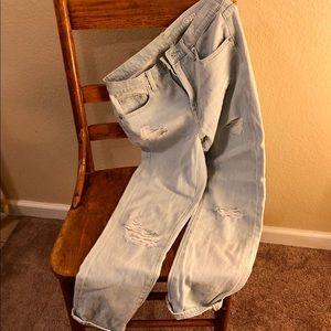 GAP Jeans - Gap Lightwash Girlfriend Denim 26r